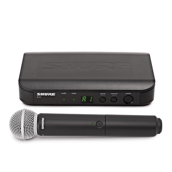 Shure BLX24UK/SM58-K3E Handheld Wireless Microphone System