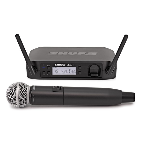 Shure GLXD24/SM58 Digital Wireless Microphone System