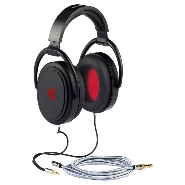 Direct Sound Studio Plus+ Audiophile Isolation Headphones - Angled