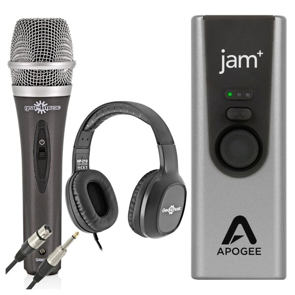 Apogee Jam+ Vocal Recording Bundle - Full Bundle