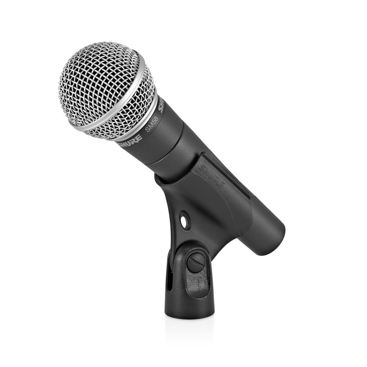 shure sm58 dynamic vocal mic with stand and cable at gear4music. Black Bedroom Furniture Sets. Home Design Ideas