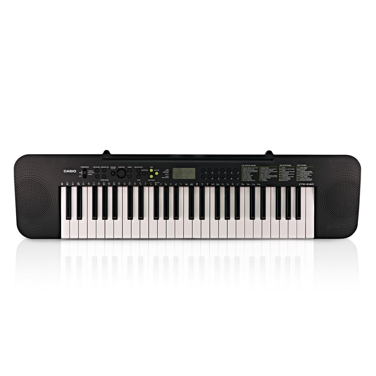 Casio CTK 240 Portable Keyboard 49 Key