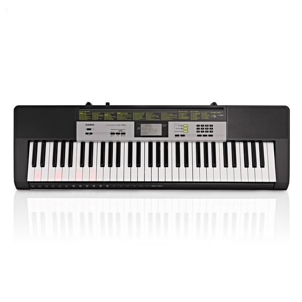 Casio LK 135 Portable Keylighting Keyboard, Black
