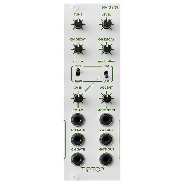 Tiptop Audio HATS909 TR909 Hi-Hats, NS (8HP)