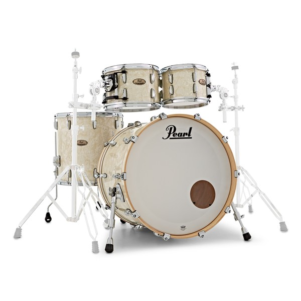 "Pearl Session Studio Select 4pc 22"" Shell Pack, Nicotine Marine Pearl main"