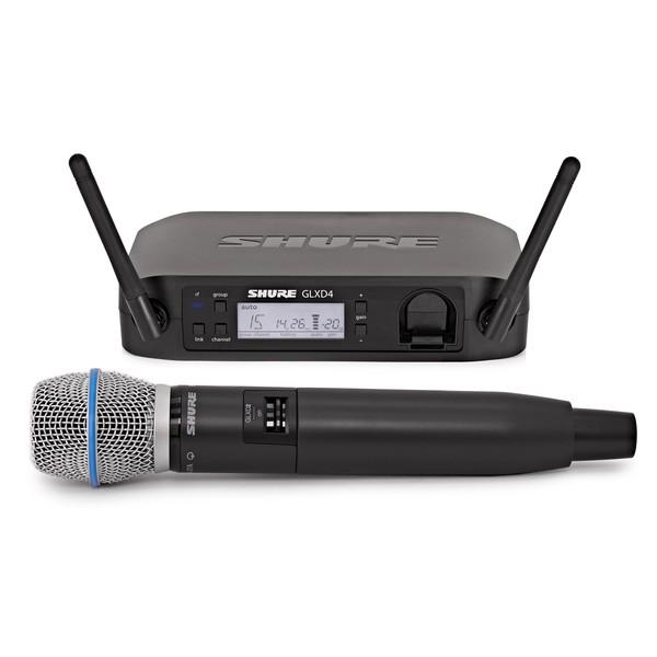 Shure GLXD24/B87A Digital Wireless Microphone System