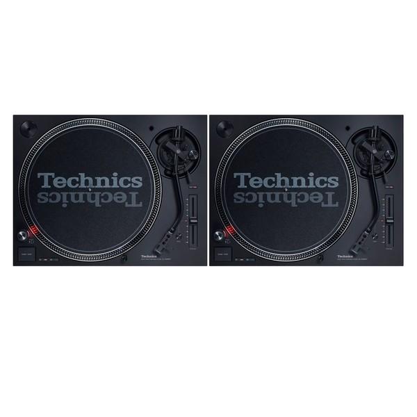 Technics SL-1200 MK7 DJ Turntable, Pair - Full Bundle