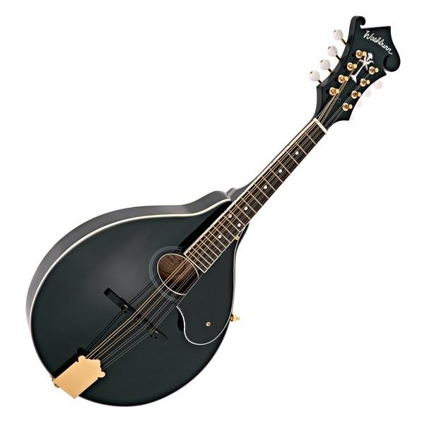 Washburn M1S DL, A Style Mandolin, Black main