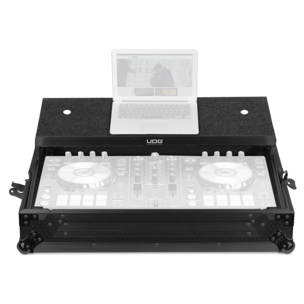 UDG FlightCase DDJ-RR/SR/SR2 Plus (Laptop), Black