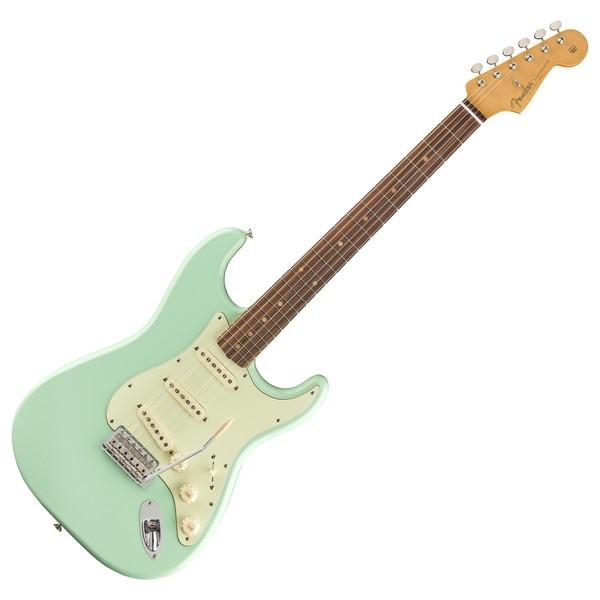 Fender Vintera 60s Stratocaster PF, Sea Foam Green - Front