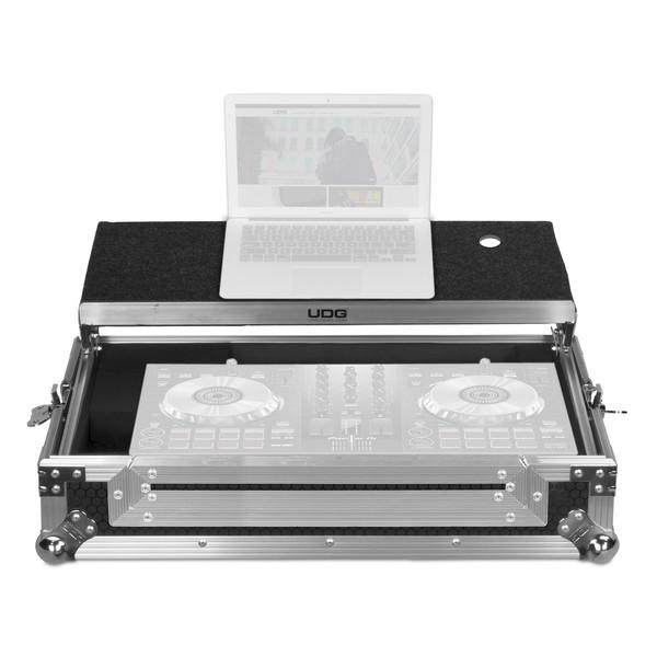 UDG FlightCase DDJ-400/SB3/SB2/RB Plus (Laptop), Silver