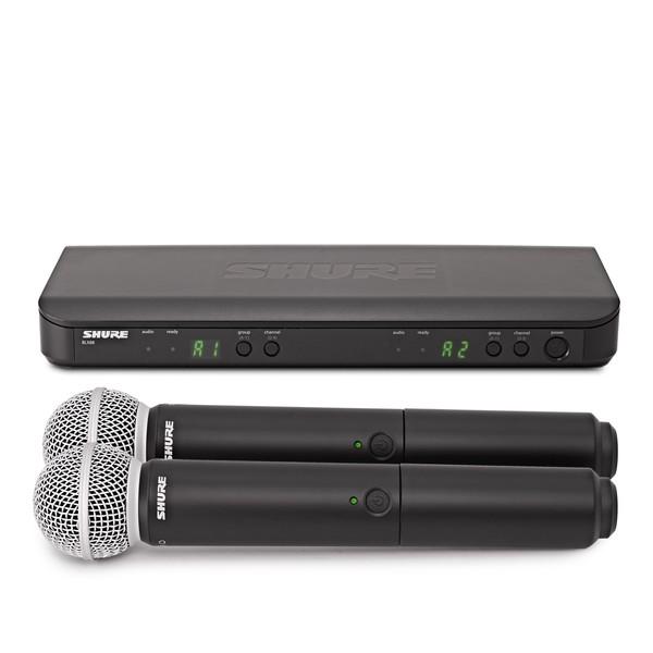 Shure BLX288UK/SM58-K3E Dual Handheld Wireless Microphone System