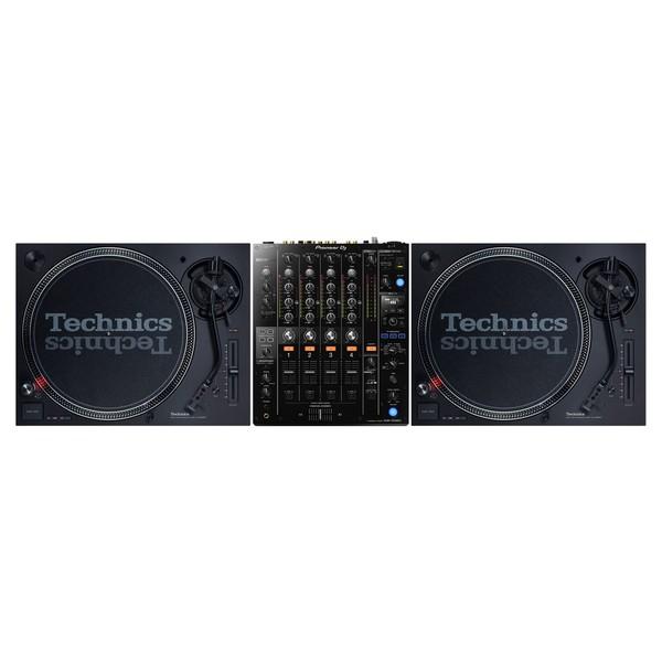 Technics SL-1210 MK7 Turntables with Pioneer DJM-750 MK2 - Full Bundle