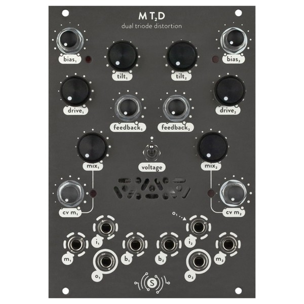 Sonocurrent MT2D Dual Triode Distortion - Front