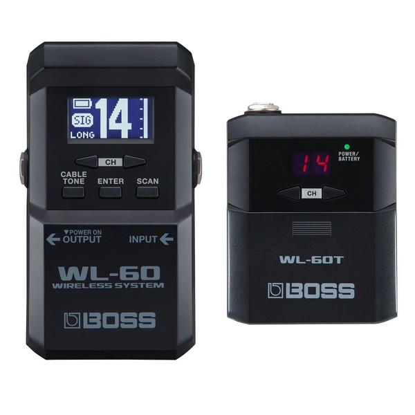 Boss WL-60 Wireless Guitar System