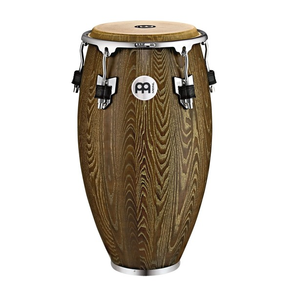"""Meinl Percussion Woodcraft Wood 11"""" Conga, Vintage Brown - main image"""