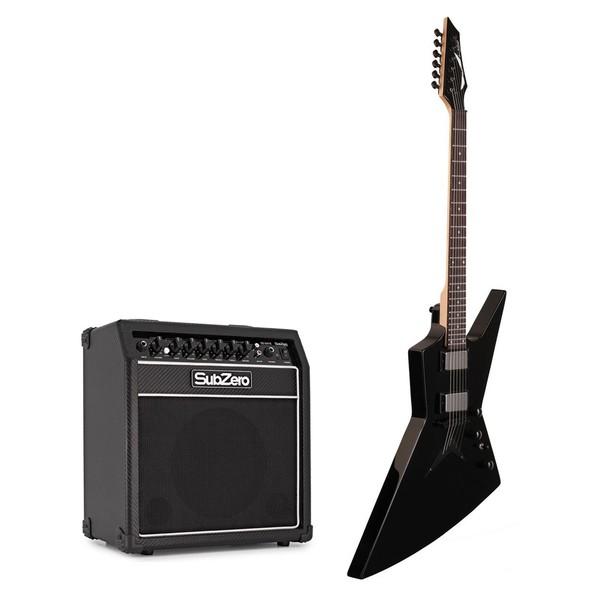 Dean Zero X Dave Mustaine w/ Subzero SA15 Amp