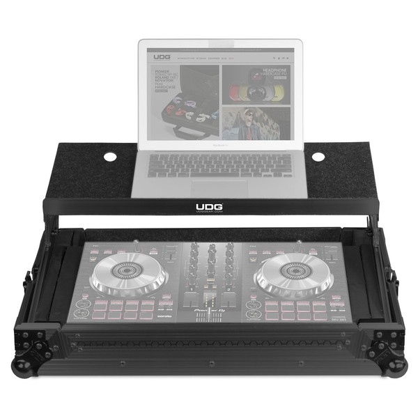 UDG FlightCase Multi Format XL Plus (Laptop), Black - Main (Controller and Laptop Not Included)