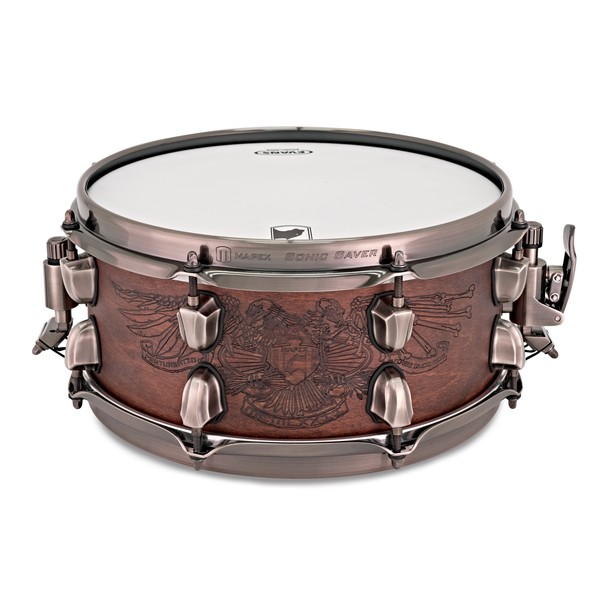 Mapex Black Panther The Warbird Chris Adler Snare, Natural Walnut main