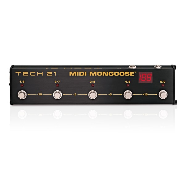Tech 21 Midi Mongoose Midi Foot Controller main