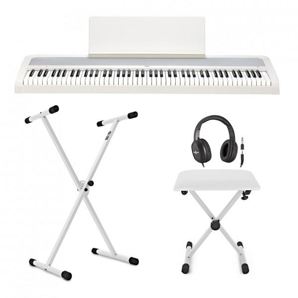 Korg B2 Digital Piano X Frame Package, White