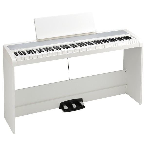 Korg B2 Digital Piano With Stand, White