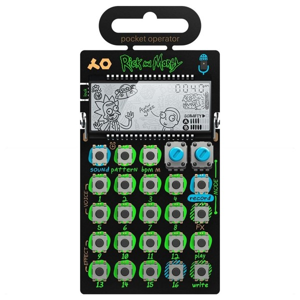 Teenage Engineering PO-137 Rick and Morty - Top