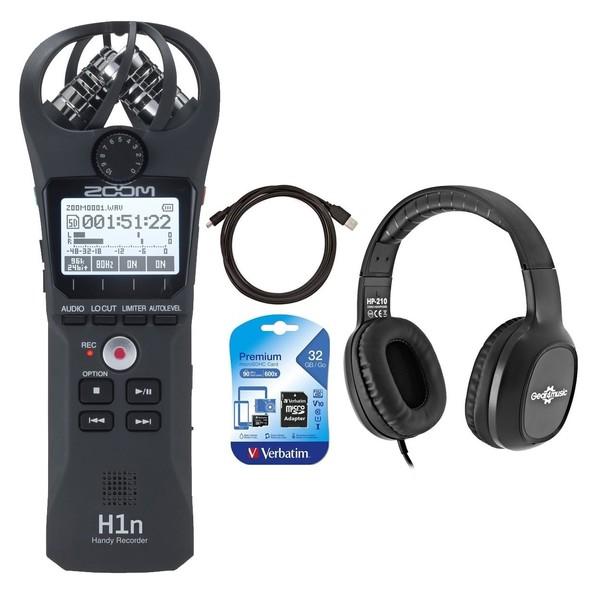 Zoom H1n Field Recording Bundle - Full Bundle