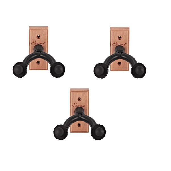 Hartwood Guitar Wall Hanger - 3 Pack