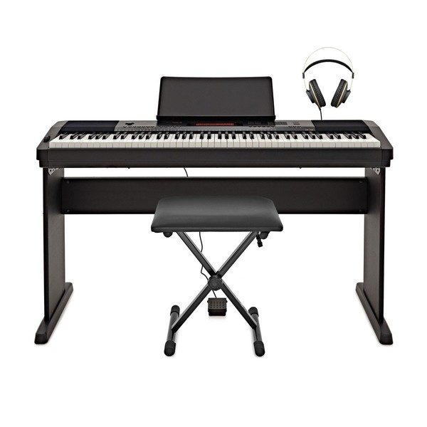 Casio CDP 230R Digital Piano Deluxe Pack, Black