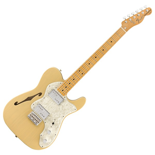 Fender Vintera 70s Telecaster Thinline, Vintage Blonde