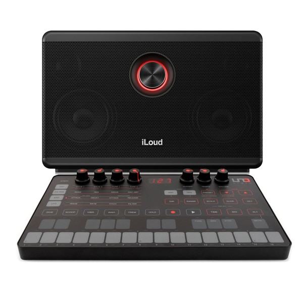 IK Multimedia UNO Synth with iLoud Portable Bluetooth Speaker - Full Bundle