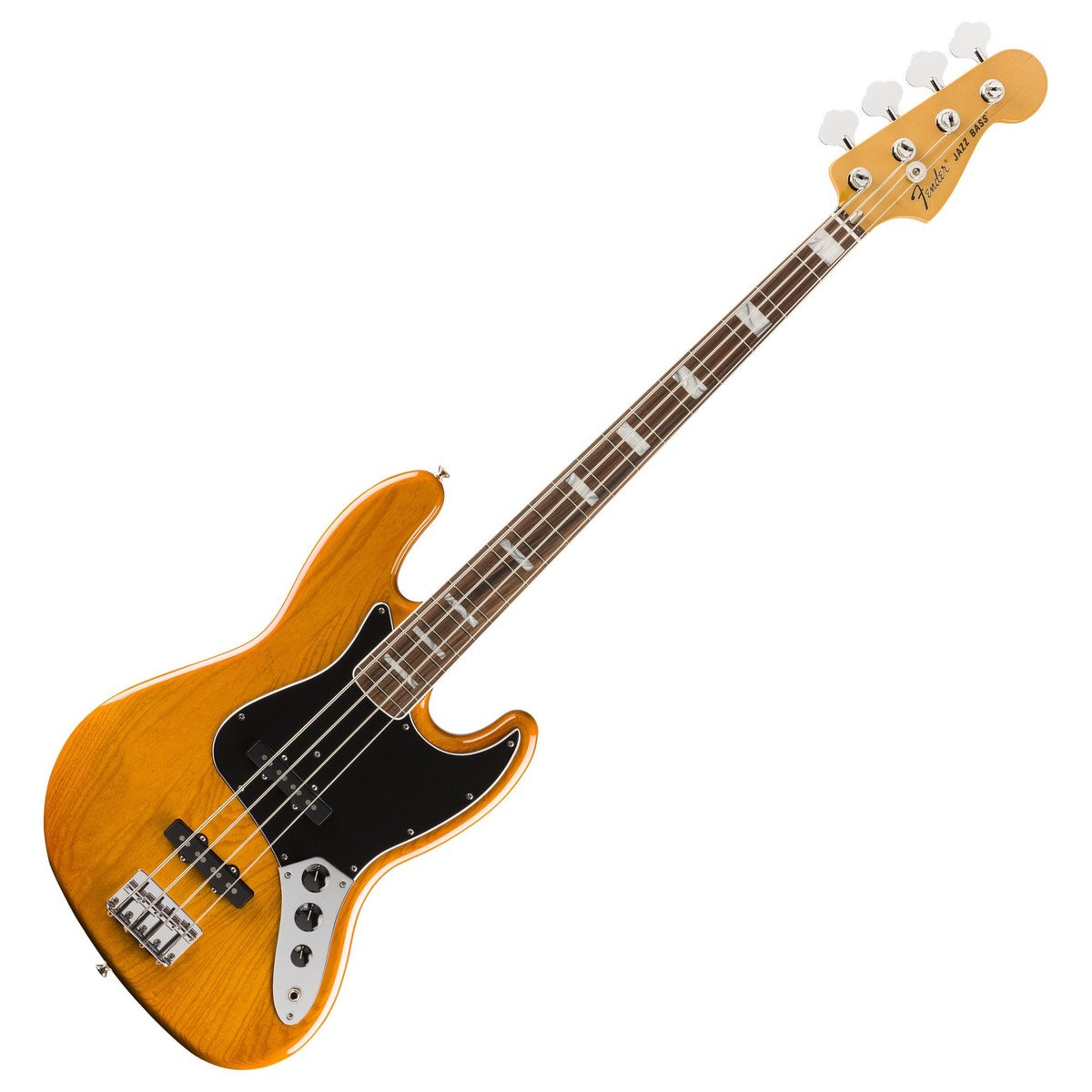 fender vintera 70s jazz bass pf aged natural at gear4music. Black Bedroom Furniture Sets. Home Design Ideas