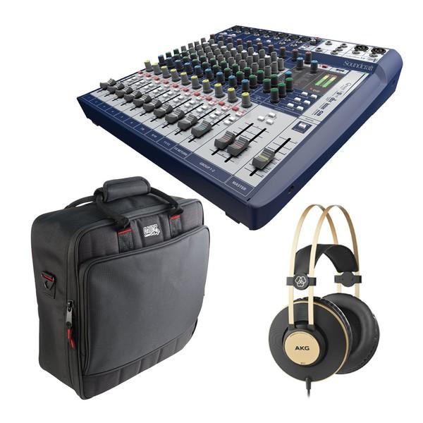 Soundcraft Signature 12 Analogue Mixer with USB and FX bundle