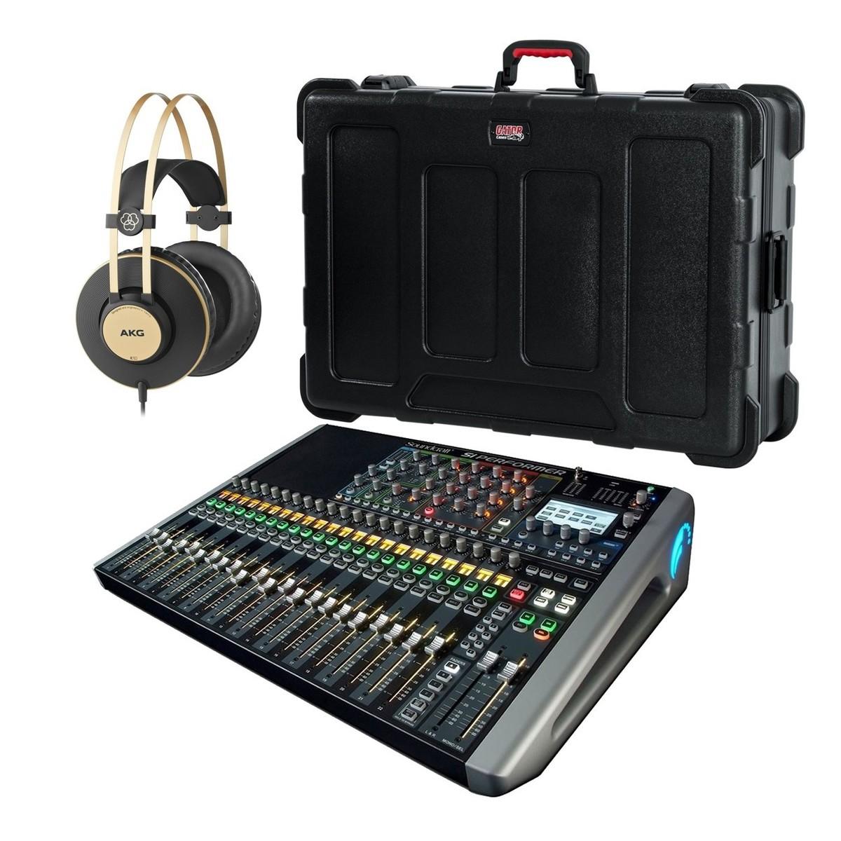 4dbb29c7a5dbd Soundcraft Si Performer 2 Digital Mixer Bundle   Gear4music