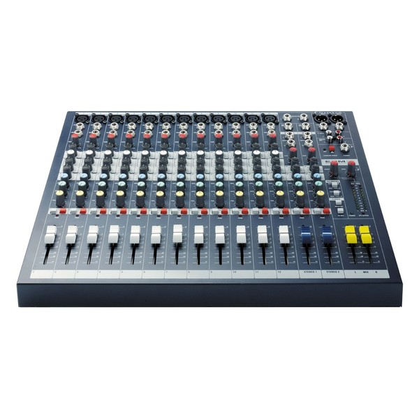 Soundcraft EPM12 Analog Mixer, Front
