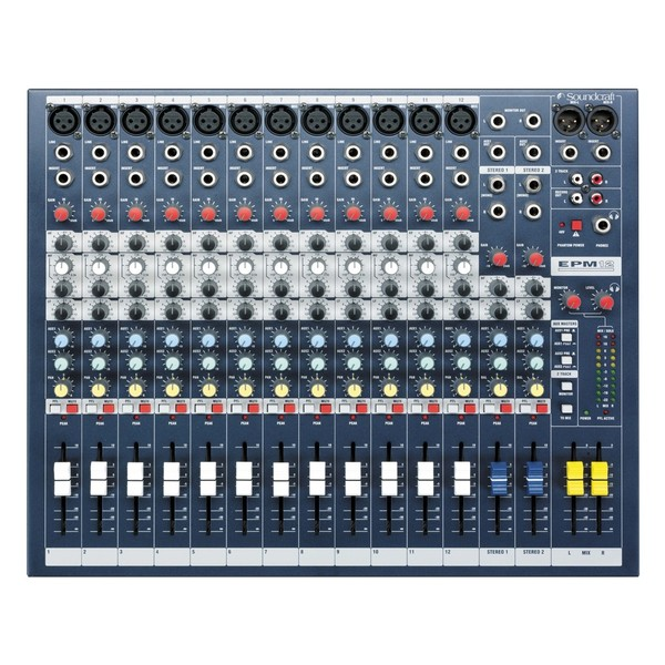 Soundcraft EPM12 Analog Mixer, Top