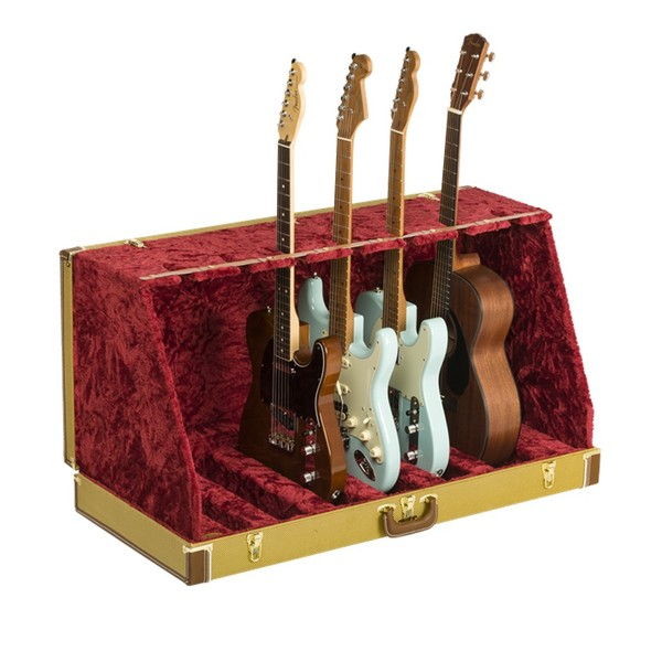 Fender Classic SRS Case Stand For 7 Guitars, Tweed