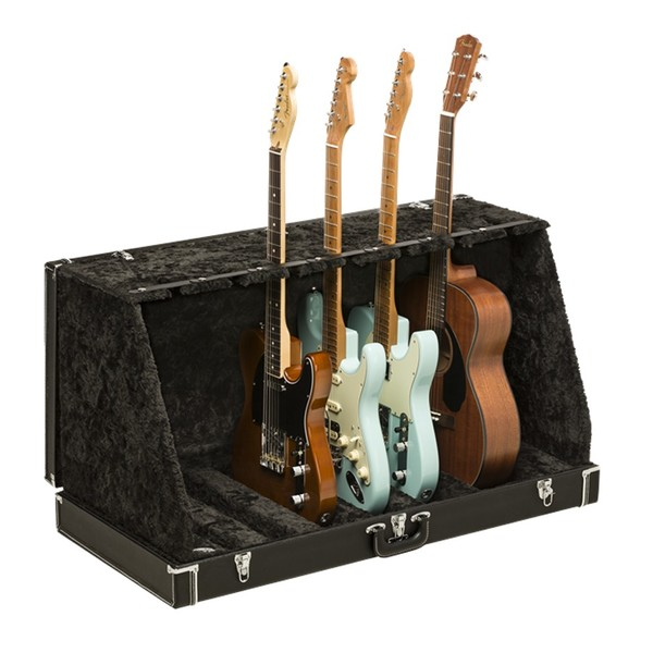 Fender Classic SRS Case Stand For 7 Guitars, Black
