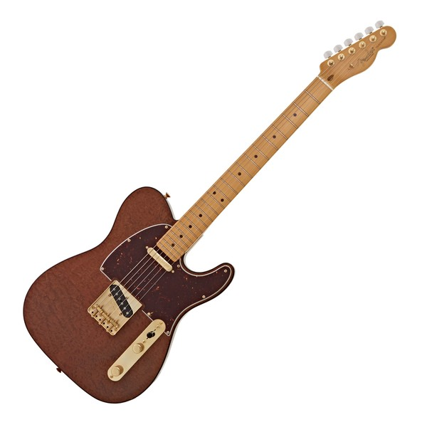 Fender Rarities Telecaster MN, Red Mahogany Natural