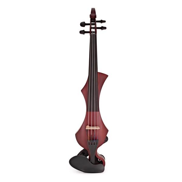 Gewa Novita 3.0 Electric Violin, Red Brown, Instrument Only