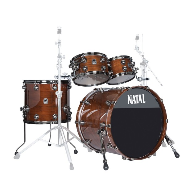 Natal Originals Walnut 22'' 4pc Shell Pack, Natural Walnut - main image