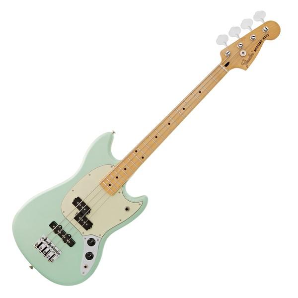 Fender FSR Mustang Bass MN, Sea Foam Pearl main