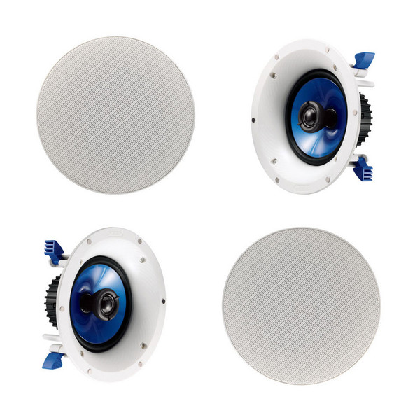 Yamaha NS-IC600 6.5 Inch Coaxial Ceiling Speakers, Pair