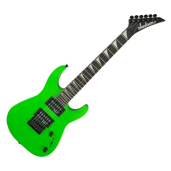 Jackson JS1X Dinky Minion AM, Neon Green - Front