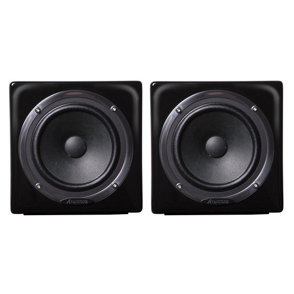 Avantone Mixcubes Active Studio Monitors, Black (Pair) - Full Contents