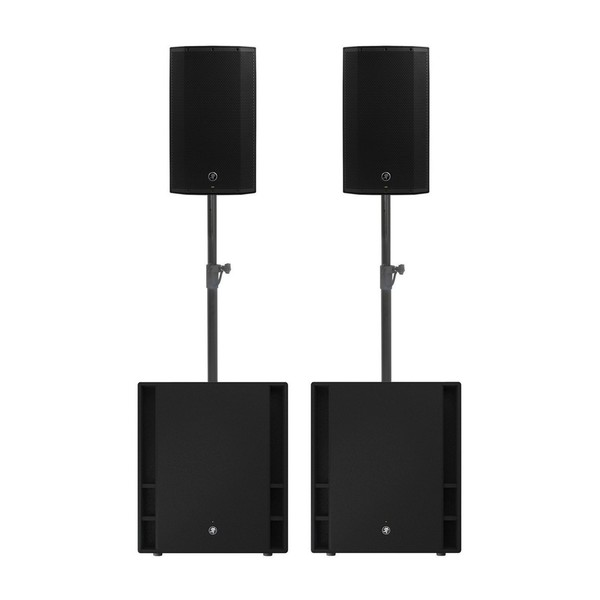 Mackie Thump 15A and Thump 18S Speaker Bundle