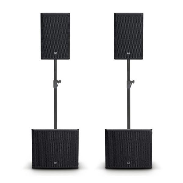 LD Systems Stinger G3 Active PA Speaker and Subwoofer Bundle