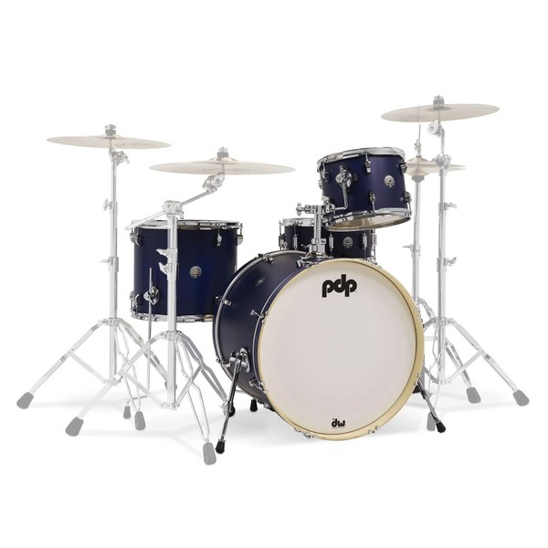 PDP Spectrum Series 22'' 4pc Shell Pack, Blue