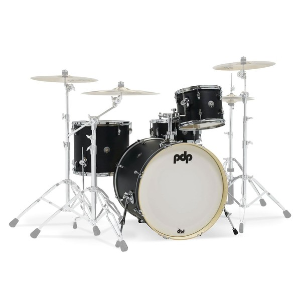 PDP Spectrum Series 22'' 4pc Shell Pack, Black